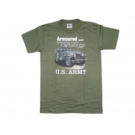 T-Shirt M-151 A2 with TOW Launcher oliv