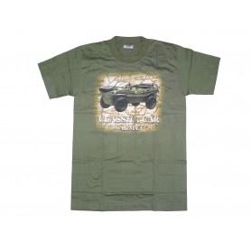 T-Shirt Schwimmwagen 166 oliv
