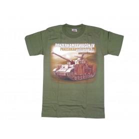 T-Shirt Panzerkampfwagen IV oliv