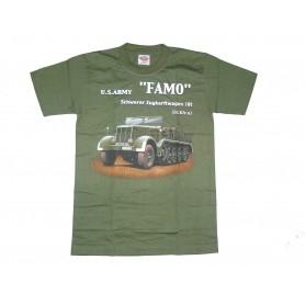 T-Shirt FAMO Sd.Kfz.9 oliv