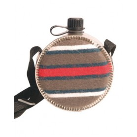 Western Feldflasche mit Filzbezug 1,9l