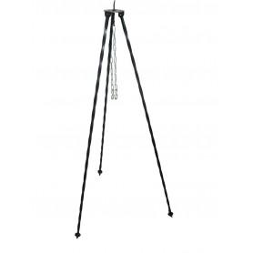 Dreibein schwarz 120cm