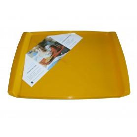 Schwed. Speise-Tablett gelb, neu