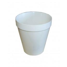 Schwed. Kunststoff-Trinkbecher 0,4l weiß, neu