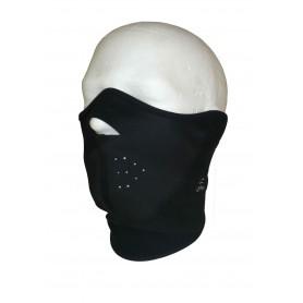 Löffler Gesichtsmaske Fleece, schwarz
