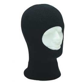 Kopfhaube Acryl 1-Loch schwarz