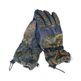 BW Winterhandschuhe flecktarn, gebraucht