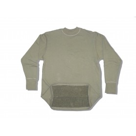 BW Winter Frottee Unterhemd oliv, neu