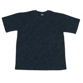 US T-Shirt, halbarm, night- camo, 170g/m²