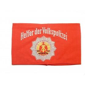 """DDR Armbinde """"Helfer der Volkspolizei"""", neu"""
