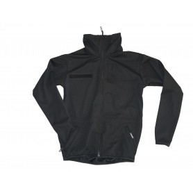 Windstopper Soft Shell Jacke schwarz