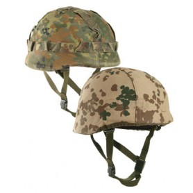 BW Helmtarnbezug wendbar flecktarn/tropentarn gebraucht