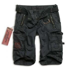 Surplus Royal Shorts schwarz gewaschen