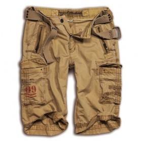 Surplus Royal Shorts khaki gewaschen