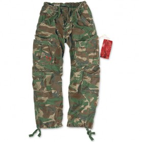 Airborne Vintage Trousers woodland