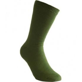 Woolpower Socken 400 oliv