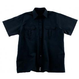 Fox Outdoor Hemd kurzarm schwarz