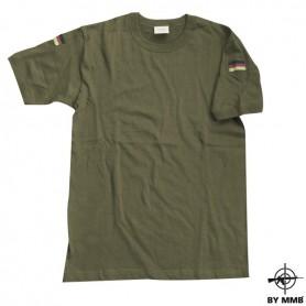 T-Shirt mit Hoheitsabzeichen, oliv