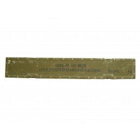 BW Hohlkörpersehrohr Kaliber 20mm neuwertig