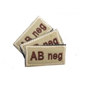 Abzeichen AB neg mit Klett khaki 3er Pack