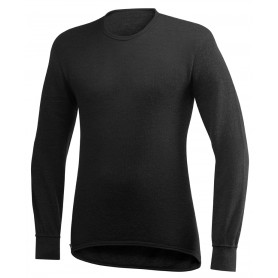 Woolpower Long Sleeve Shirt 200 schwarz