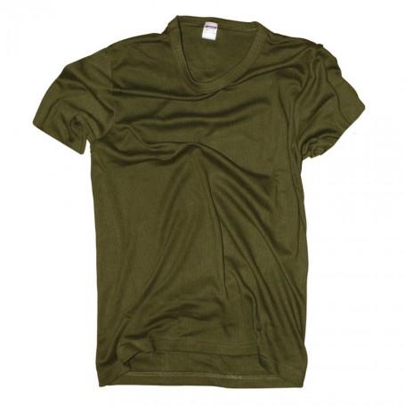 US Style T-Shirt im 3er Pack steingrau-oliv Rundhals Shirt Unterhemd