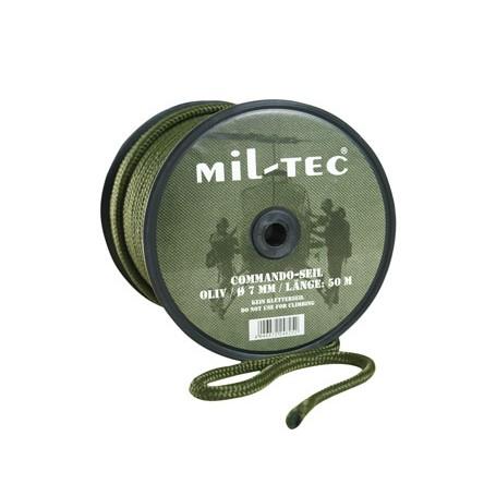MFH Seil Outdoor-Commando 5 mm Allzweckseil Reepschnur Oliv 60 meter