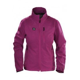 Tindra Sherfield Fleece Jacke Ladies pink