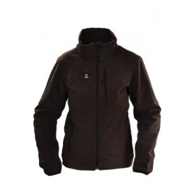 Tindra Sherfield Fleece Jacke Ladies braun