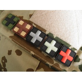 3D Rubber Patch Medic 25mm