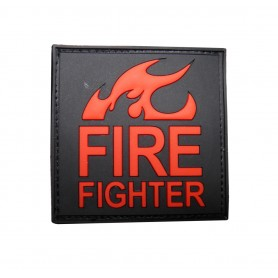 3D Rubber Patch Fire Fighter