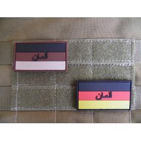 3D Rubber Patch Deutschland mit Persischer Schrift