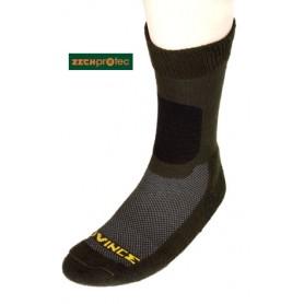 Zeckprotec Socken Coolmax oliv