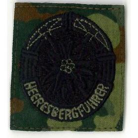 BW Abzeichen Heeresbergführer tarn