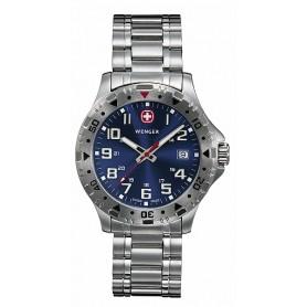 Wenger-Uhr Offroad mit Edelstahl Armband