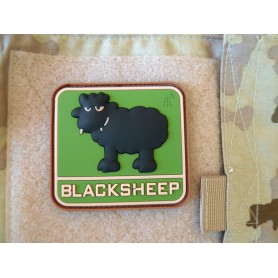 3D Rubber Patch Blacksheep multicam