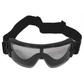 """MFH Schutzbrille, """"Thunder"""", schwarz, 2 Ersatzgläser"""