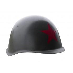 Russischer Stahlhelm mit Roter Stern gebraucht