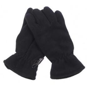 MFH Fleece-Fingerhandschuhe, schwarz, Thinsulatefütterung