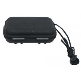 MFH Box, Kunststoff, wasserdicht, 13,3x8x3,7 cm, schwarz