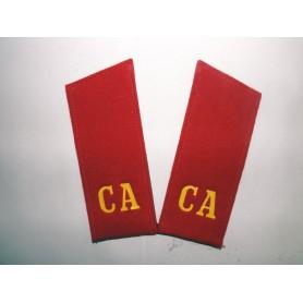 Russ. Infanterie Mannschaft Schulterklappe UDSSR