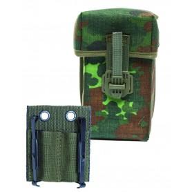 BW G3 Doppelmagazintasche mit Adapter flecktarn