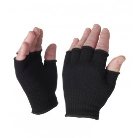 SealSkinz Fingerless Gloves schwarz