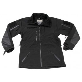 "MFH Soft Shell Jacket ""High Defence"" schwarz"
