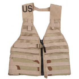 US MOLLE II Modular Lightweight FLC Vest 3-color desert, gebrauc