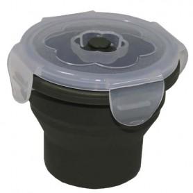 Silikon Lunchbox 240ml (9,5x7,5cm) oliv
