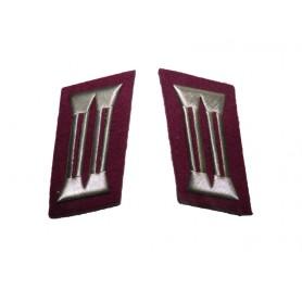 DDR Kragenspiegel Wachtmeisterdienstgrade