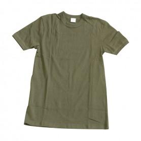 BW Unterhemd 1/2 Arm oliv, neu