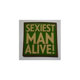 3D Rubber Sexiest Man Alive