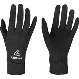 Löffler Sporthandschuhe schwarz